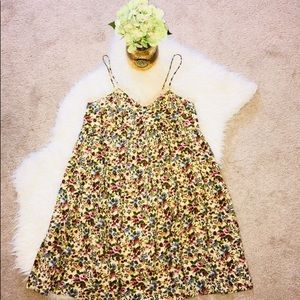 Vintage Empire Waist Floral and Lace Dress